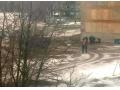В Харцызске, с крыши многоэтажки упала девочка