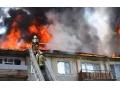 В Харцызске, на трубной стороне загорелся пятиэтажный дом
