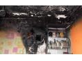В Зугрэсе загорелась квартира. Пострадал мужчина